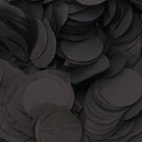 Black Paper Dots Confetti (100g)