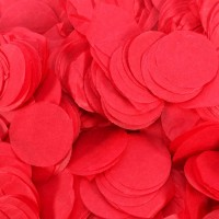Red Paper Dots Confetti (100g)
