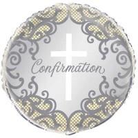 "Confirmation Cross - 18"" Foil Balloon"
