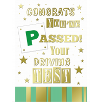 Congrats You've Passed Your Driving Test - Pack Of 12
