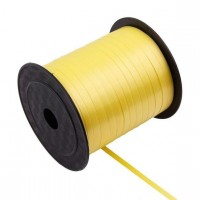 Cream 5mm Curling Ribbon Franco Perro 500m