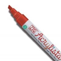 Crimson Acrylista Chisel Pen  (6mm)