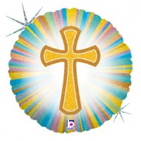 "Communion/Confirmation 18"" foil balloon"