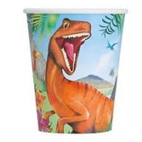 Dinosaur 9oz cups 8ct