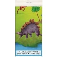 Dinosaur Plastic Tablecover 1ct
