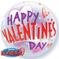 "Happy Valentine's Day - 22"" Bubble"