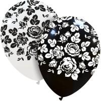 """Elegant Roses Superior 12"""" Latex Balloons 25Ct"""
