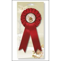 Confirmation - Rosette With Picture Pack Of 6