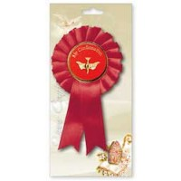 Confirmation Rosette - Dove Motif - Pack of 6