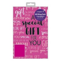 A Special Gift For You Pink - Packed Wrap H:69 x W:49 cm
