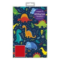 Dinosaurs - Packed Wrap H:69 x W:49