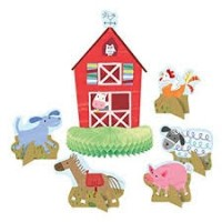 Farm Party Centerpiece Decoration Assorted Designs 6ct
