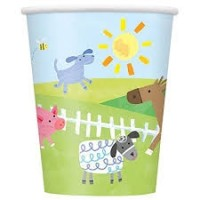 Farm Party 9oz cups 8ct