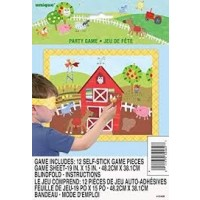 Farm Party Game for 12 1ct