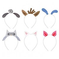 Farm Party Headbands Assorted Designs 6ct