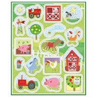 Farm Party Sticker Sheet/Favors 4ct