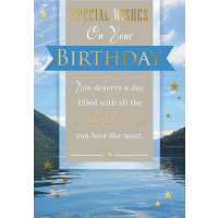 Happy Birthday - Open Male - Pack Of 12