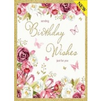 Birthday Wishes - Open Female - Pack Of 12