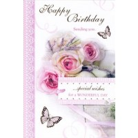 Happy Birthday - Open Female - Pack Of 12