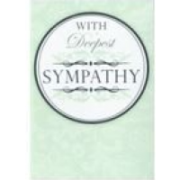 With Deepest Sympathy - Pack Of 12