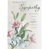 With Much Love And Deepest Sympathy - Pack Of 12