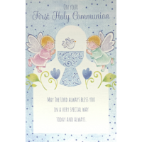 On Your First Holy Communion - God Bless You - Pack Of 12