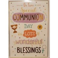 It's Your First Communion - On Your Special Day - Pack Of 12