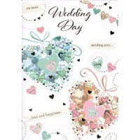 Happy Wedding Day - Special Wishes - Pack Of 12