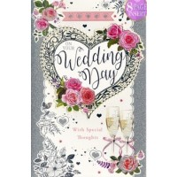 On Your Wedding Day - Best Wishes - Pack Of 12