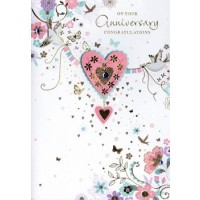 Happy Anniversary - Have A Wonderful Time - Pack Of 12