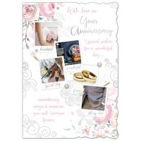 On Your Anniversary - Special Wishes - Pack Of 12