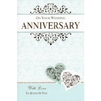 Happy Anniversary - For A Special Couple - Pack Of 12