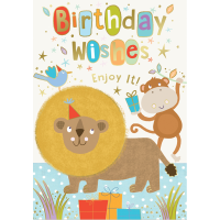 Birthday Wishes - Open Boy - Pack Of 12