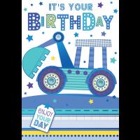 Happy Birthday - Open Boy - Pack Of 12