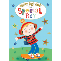 Happy Birthday - Special Boy - Pack Of 12