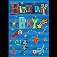 Birthday Boy - Open - Pack Of 12