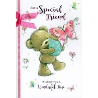 Happy Birthday - Wonderful Friend (Female) - Pack Of 12