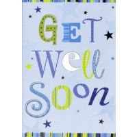 Get Well Soon - Male And Female - Pack Of 12