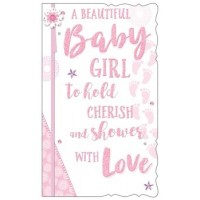 A Baby Girl - How Wonderful - Pack Of 12