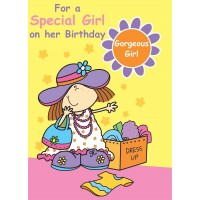 #48 Greeting Cards - Juv Girl 12pk