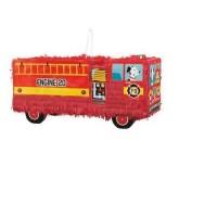 Red Fire Truck Pinata