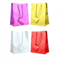 Assorted Holographic Large Gift Bags 12ct