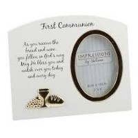 """Communion - Arched Photo Frame 3""""X4"""""""