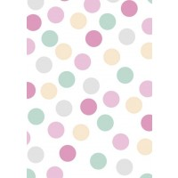 Pink Polka Dot Sheet Wrap H:69 x W49 cm