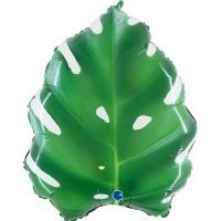 """Tropical Leaf 23"""" Foil Balloon"""