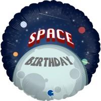 """Astronaut Birthday 18"""" Foil Balloon"""