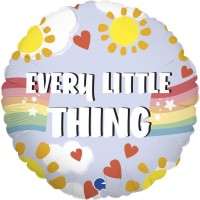 """Every Little Thing is Gonna be Alright 18"""" Foil Balloon"""