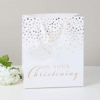 Christening Gift Bag - Medium Pack Of 6
