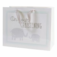 On Your Christening - GIft Bag - Large Pack Of 6