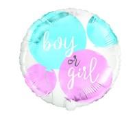 """Boy or Girl 18"""" Foil Balloon"""